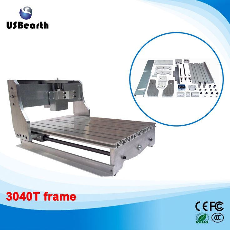 365.75$  Watch here  - DIY CNC engraving machine, small cnc machining frame, CNC rack suitable for 4030T