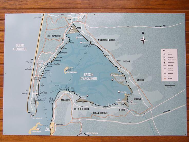 Best 25 arcachon carte ideas on pinterest - Office de tourisme de lege cap ferret ...
