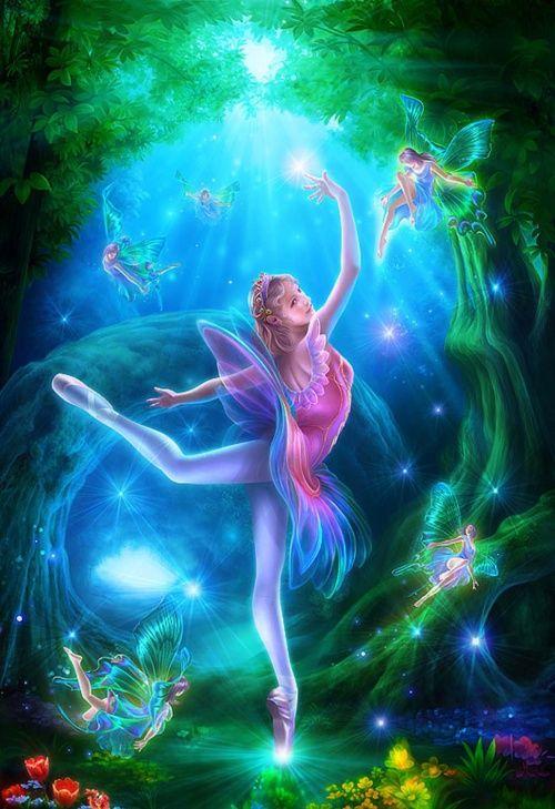 вести картинки с феями и волшебницами воздушные шары очень