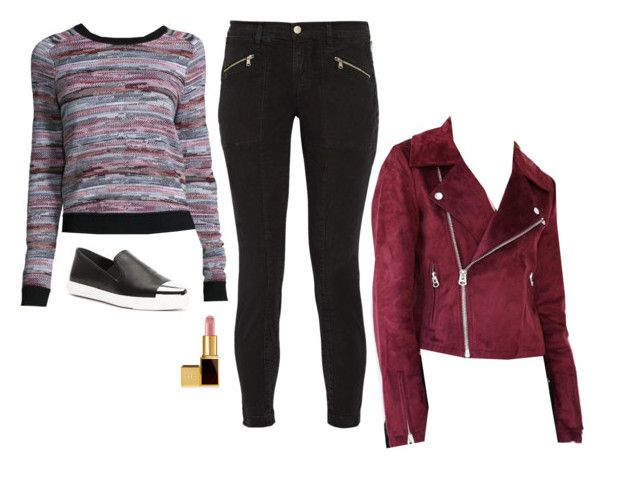 Thea Queen Inspired Outfit by daniellakresovic on Polyvore featuring polyvore fashion style rag & bone/JEAN Silence + Noise J Brand Tom Ford clothing