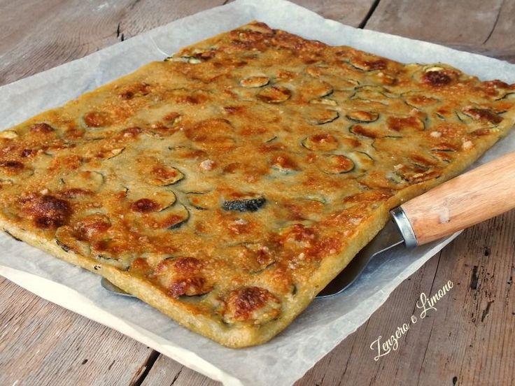 La schiacciata di zucchine è una ricetta facilissima da realizzare, veloce e…