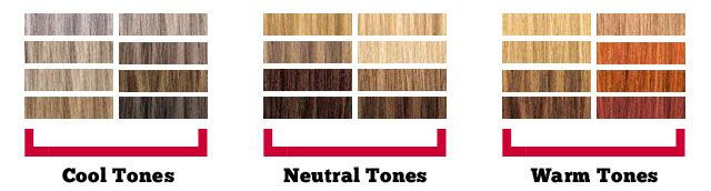 Blond colors for neutral skin tones cool tones have for Shades of neutral colors