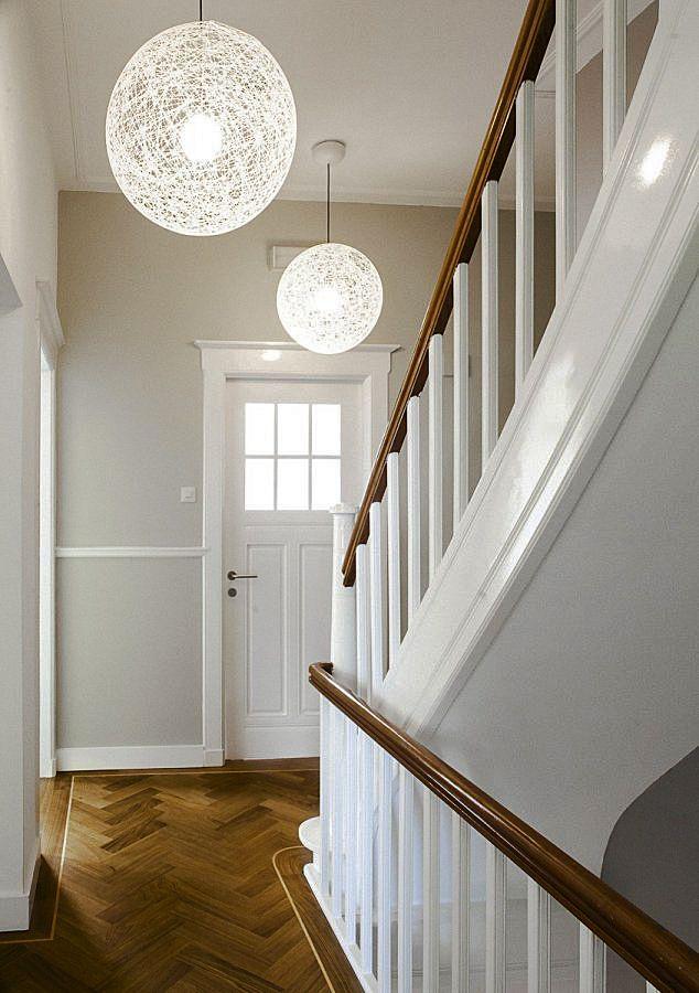 Kantoor in monumentaal pand houten vloer pinterest muur voor het huis en planten - Entree decoratie interieur ...