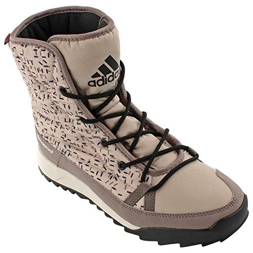 adidas Outdoor CW Choleah Insulated CP Snow Boot Womens Tech EarthVapour  GreyClear Brown 12 >