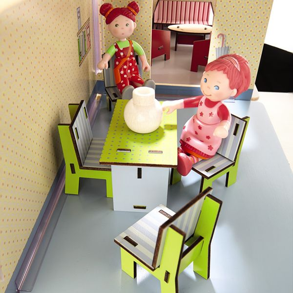 Little Friends - Dining Room Dollhouse Furniture by HABA - $7.50