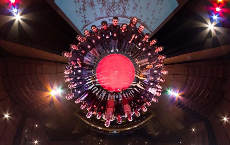 Organizadores del TEDxBogotá, colaboración con VirtualStep.