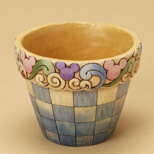 heartwood creek mickey flower pot
