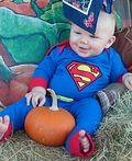 Superman Baby Costume - 2014 Halloween Costume Contest