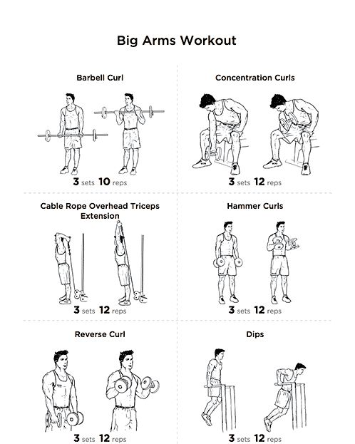 best 25  arm workouts for men ideas on pinterest