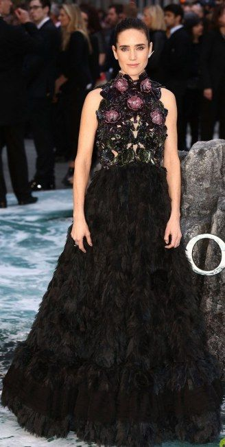 Jennifer Conolly  at the UK premiere of her new movie Noah in London, England.