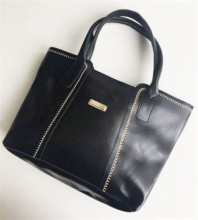 Bayan kısa saplı siyah el çantası modellerini en ucuz fiyatlarıyla kapıda ödeme ve taksit ile Outlet Çarşım'dan satın al.