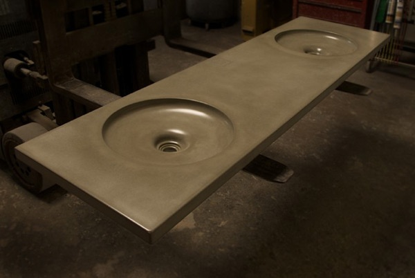 Concrete Laundry Sink Base : concrete sink up countertops sinks forward modern concrete sink gore ...