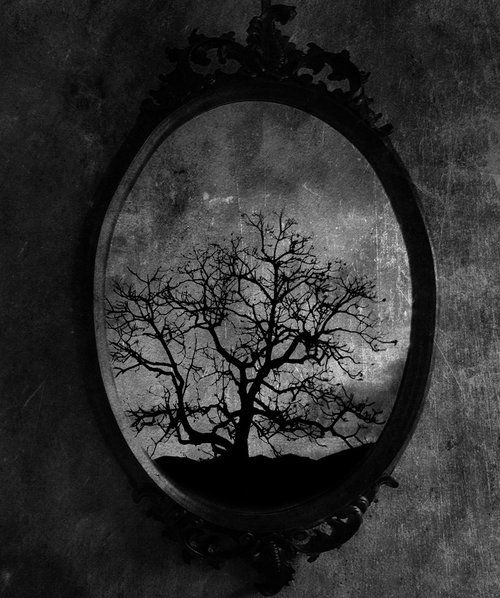 Image result for dark  images of mirrors