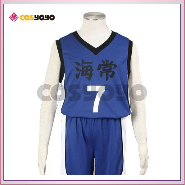 黒子のバスケ 黄瀬涼太 海常高校 ユニフォーム コスプレ衣装