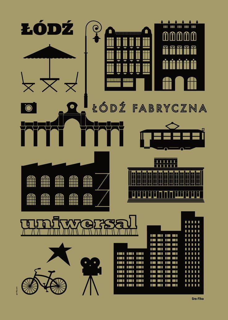 ŁÓDŹ oliwka / Gra-Fika #ladnerzeczy #targirzeczyladnych #ladnerzeczydziejasiewinternecie #polishdesign #design