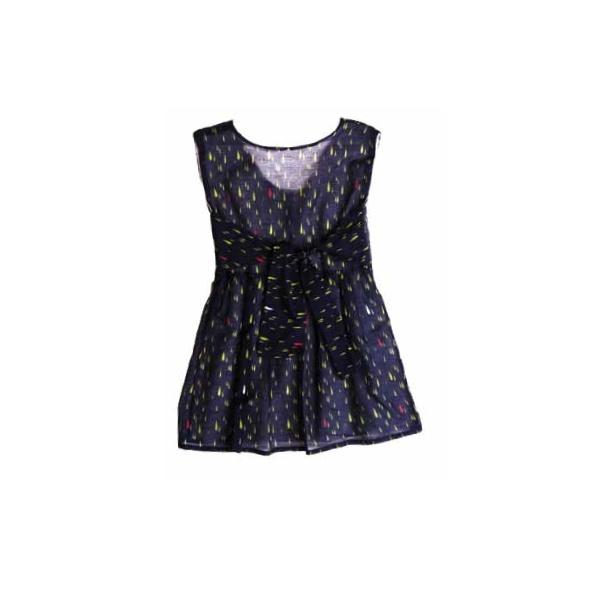 ORIMUSI Dress Raindrops - Lilla Mode