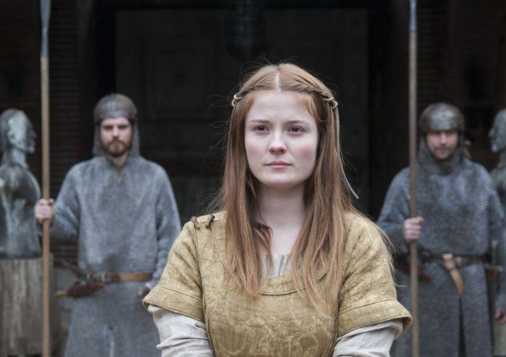 Amy Wren - The Last Kingdom (2015) (2560×1809) #hair #hairstyle