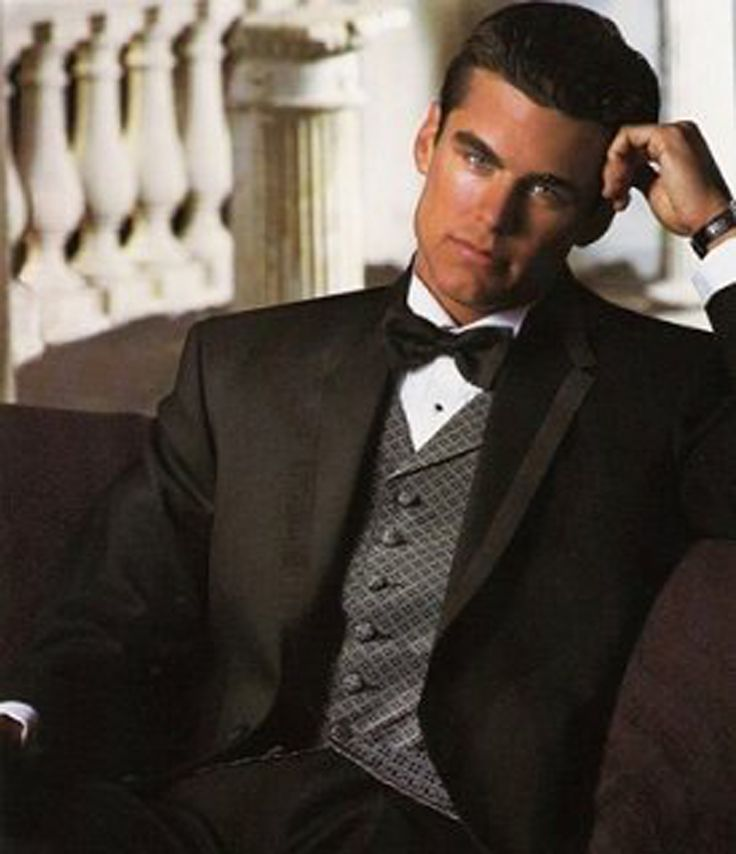 41 best Black Tuxedos images on Pinterest | Tuxedo for wedding ...