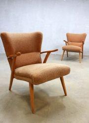 vintage design wingback chairs, vintage design oorfauteuil Deense stijl www.bestwelhip.nl