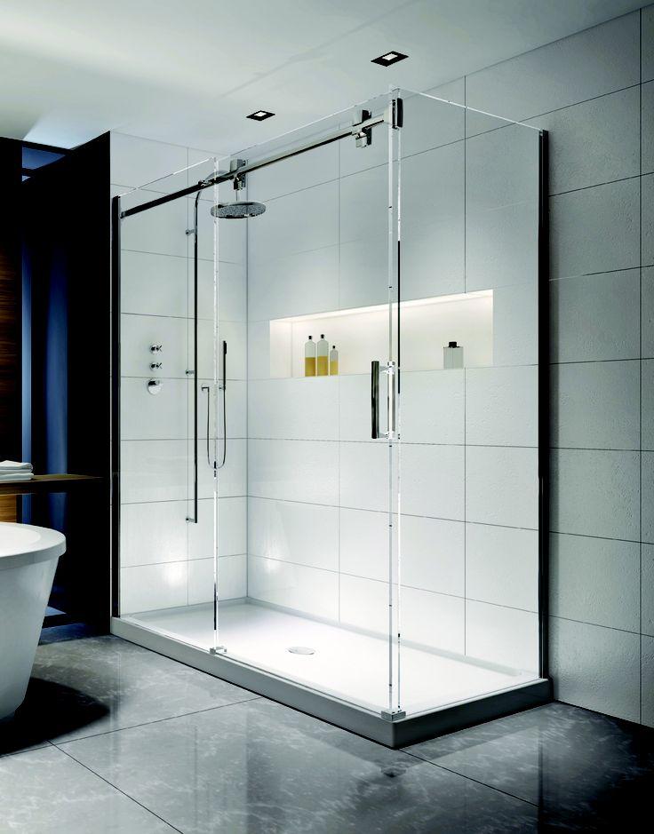 Rolling Glass Shower Door