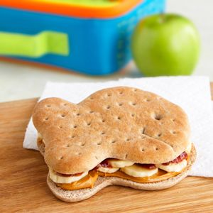 PB&J with Banana Sandwiches... A fun twist on a classic sandwich.