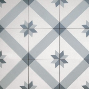 Small Norwegian Star - Tiles from Historiske Fliser