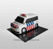 Politieauto taart 3D