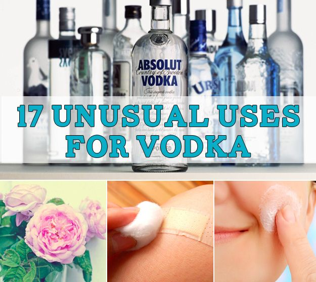 17 Unusual Uses For Vodka