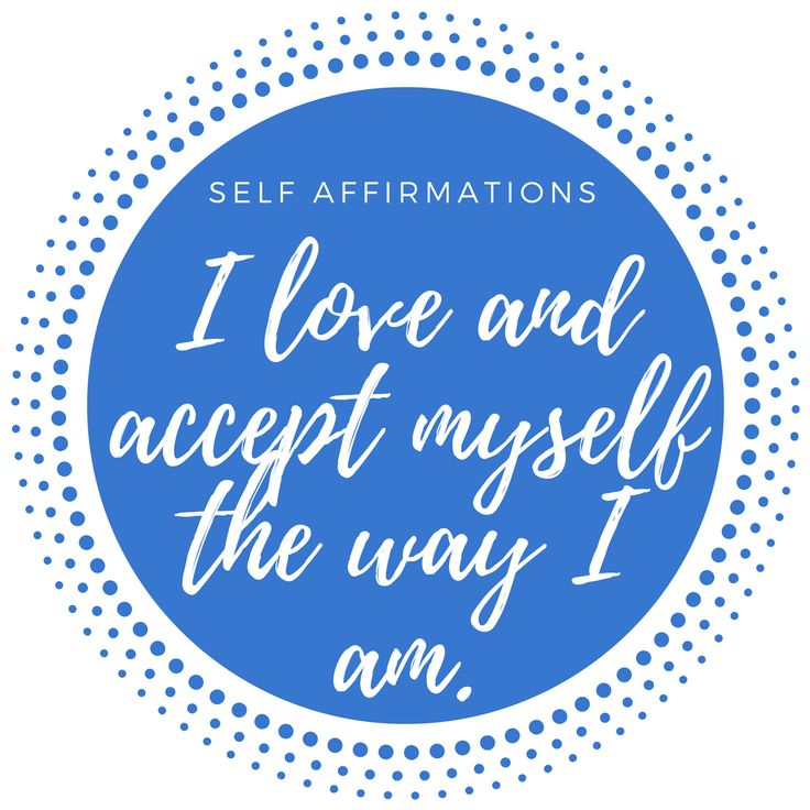 Acknowledge the progress you have made on your journey toward greater self acceptance and self esteem. Repeat positive self affirmations, by saying them aloud or writing them out, to focus on positive messages about yourself. #affirmations