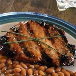 Côtelettes de porc grillées au romarin @ qc.allrecipes.ca