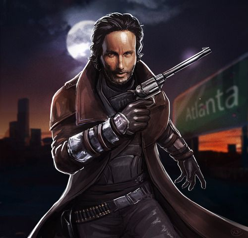 Fallout New Vegas x The Walking Dead crossover NCR ranger Rick Grimes
