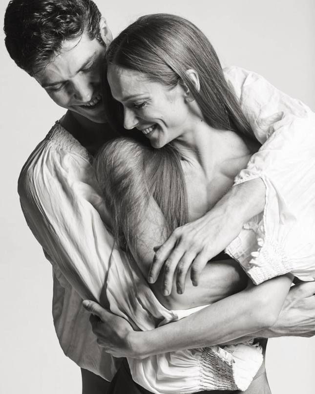 Polina Semionova and Roberto Bolle