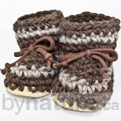 Padraig Wool Slippers - Baby Knitted Booties