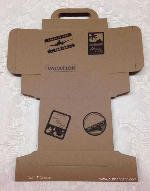 Suitcase Favor Boxes Suitcase Boxes Suitcase Favors Destination Wedding Travel…