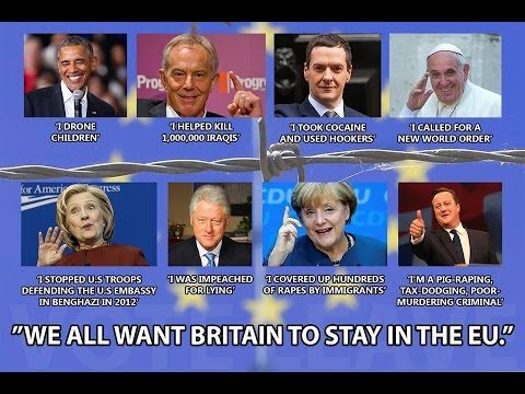 Breaking : 8 Major Criminals Want UK To Stay In EU #Brexit