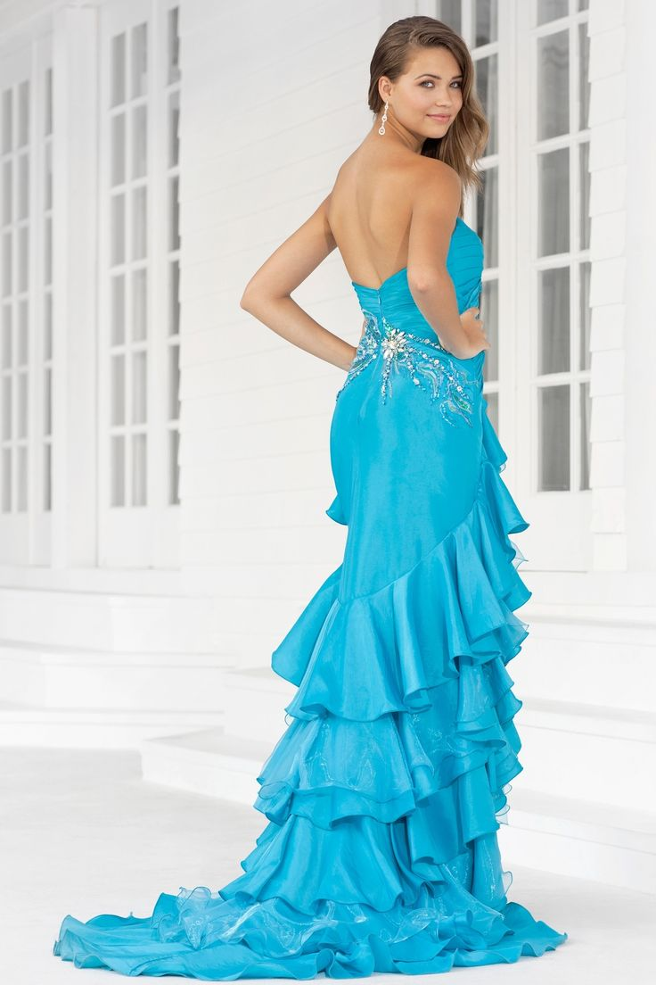 11 best Sexy Backless Prom Dresses images on Pinterest | Party ...