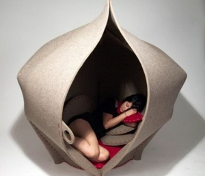 Climb Back Into the Womb With This Handy Uterus Chair...perfect for my future patients...should this go in the waiting room?