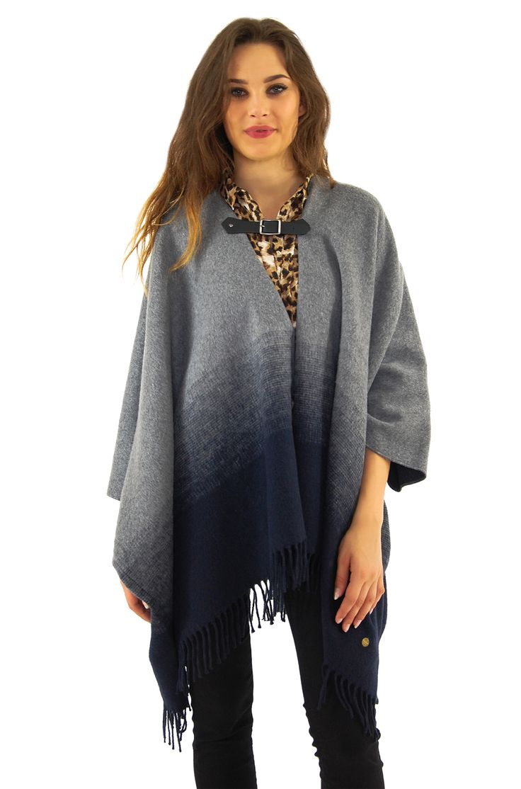 #Stylish #Poncho on Denimbase.pl One size fo every #woman