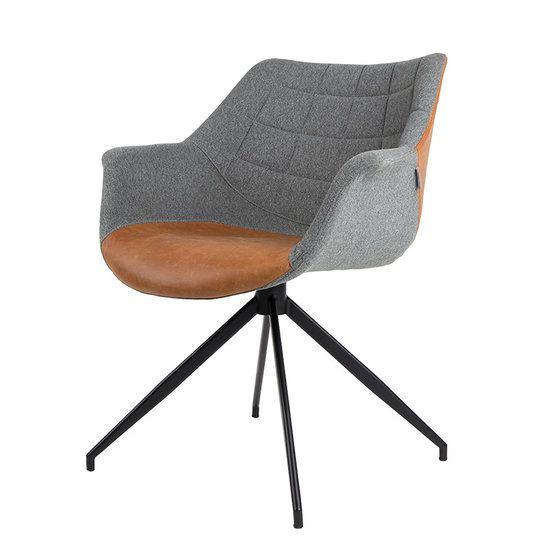 Stoel Doulton van het merk Zuiver. Het is net alsof deze stoel Doulton altijd al bestaan heeft. Toch is hij helemaal nieuw en ontworpen door het merk Zuiver. De eetkamerstoel Doulton is ook geschikt als bijzet fauteuil in de zithoek. De stoel Doulton wordt verkocht door https://www.meubelen-online.nl/eetkamerstoel-doulton-vintage-met-armleuningen