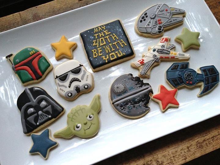 Star Wars Cookies (Cookie Cowgirl)