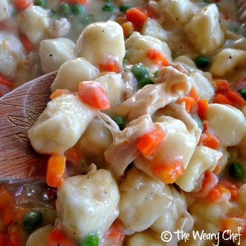 Easy Chicken and Dumplings - All in one Pot! #dumplings #foodporn #dan330 http://livedan330.com/2015/02/26/easy-chicken-dumplings/