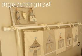 My country nest: Coastal style bed headboard