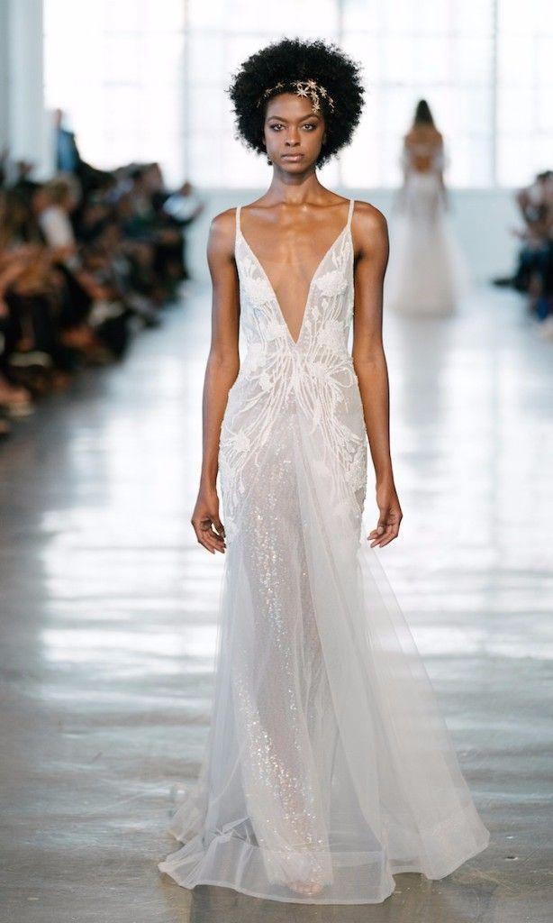 d6af66b392 65 Plunging Wedding Gowns For The Daring Bride | Wedding Dresses ...