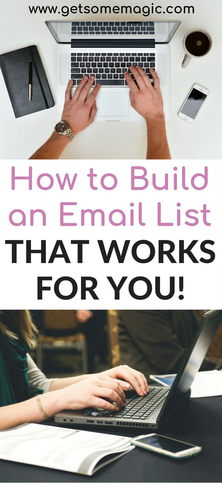 What good is an email list, if your subscribers don't convert to customers? We will give you some great tips to help you build an email list that WORKS for you and helps you produce leads for your business. We will also give you a free checklist so you can fix your approach to email lists today. Don't forget to save this so you can find it later! #emailmarketing #emaillist #emaillistbuilding #marketingtips