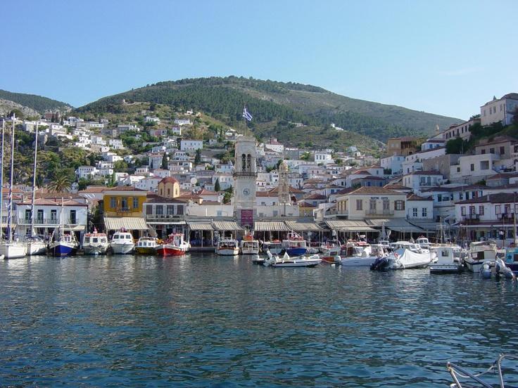 Hydra Island, Greece; no cars allowed