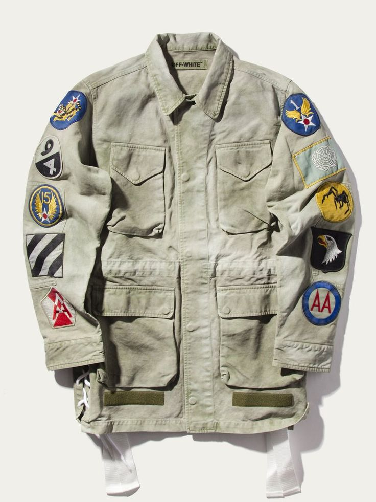 Field Military Jacket (Patches)