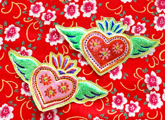 12 Must Make Valentine's Day Craft Projects   My Poppet Makes