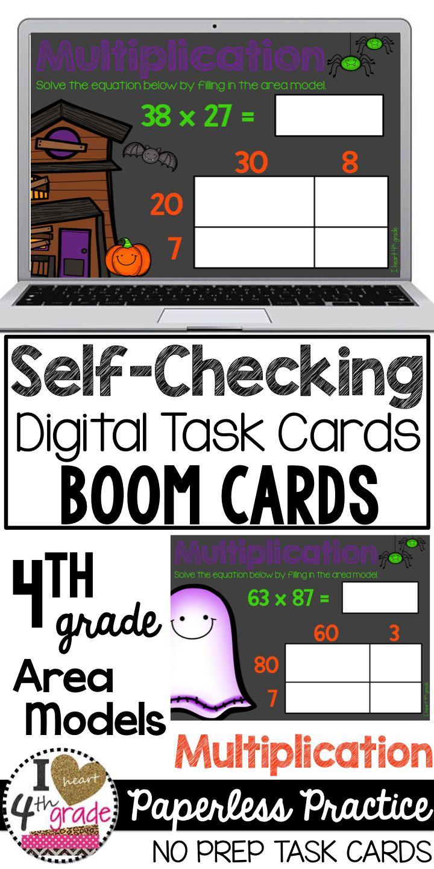 Digital Task Cards | Multiplication Task Cards | Boom Cards | Boom Digital  Task Cards |