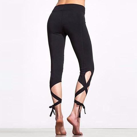 Ballet Yoga Pants (Black, Pink & Lavender) - Rebel Style Shop - 1