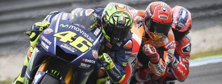 6/29/17 - MOTOGP - Johann Zarco took pole for the MOTUL TT Assen and led the race's first 11 laps from Marc Marquez, Valentino Rossi, Danilo Petrucci and Scott Redding, on the OCTO Pramac satellite Ducati bikes.  Racing News from WSBK, MOTOGP, and MOTOAMERICA (Auto racing also - Formula 1, Indycar and Sportscar Championship)
